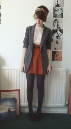How do I wear winter tights? Best Outfits How do I wear winter tights? 20 best outfits How do I wear winter tights? Best Outfits How do I wear winter tights? Mode Outfits, Fall Outfits, Casual Outfits, Fashion Outfits, Fashion Ideas, Summer Outfits, Classy Outfits, Hipster Outfits Winter, Womens Fashion