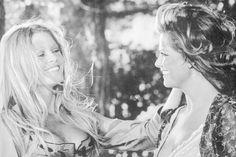 Claudia Cardinale and Brigitte Bardot