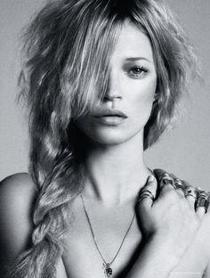 "journaldelamode: ""Kate Moss by Daniele & Iango for i-D Magazine PreSpring 2013 """