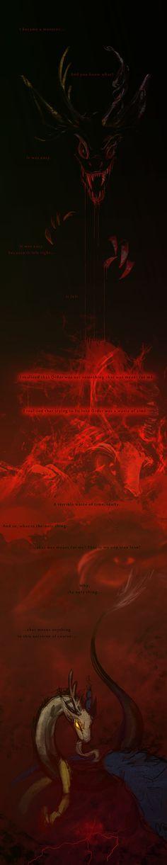 discordantly-2  by *CrappyUnicorn  Link: http://crappyunicorn.deviantart.com/art/discordantly-2-259288104