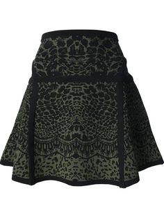 Diane Von Furstenberg knitted a-line skirt