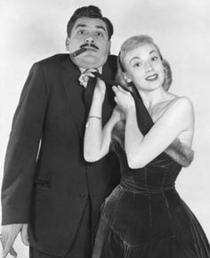 Ernie Kovacs and his wife, singer Edie Adams. photo: Ediad Productions.