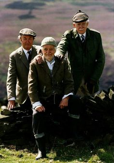 My favorite trio British Tv Comedies, British Comedy, Comedy Tv, Comedy Show, Last Of Summer Wine, Uk Tv Shows, Vintage Wine, Old Tv, Classic Movies