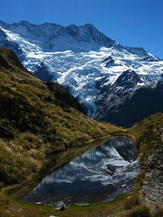 Mt Sealy located on #NewZealand's South Island