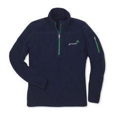 Adult Navy 3/4 Zip Fleece Jacket - $34.95 (while supplies last only)
