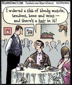 Gotta LOVE cartoonist, and fellow vegan, Dan Piraro! HA! #MyVeganJournal