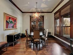 Enjoy your meal under this beautiful light fixture and lots of natural lighting 911 E 13th St, Austin