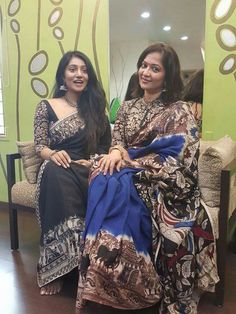 #Kalamkari#Saree#Black