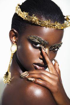 Black Women Art, Beautiful Black Women, Black Girls, Beautiful Beautiful, African Beauty, African Women, Brown Skin, Dark Skin, Brown Eyes
