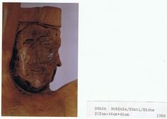 face of Odhin made of Akazia / Robinia-wood Some Words, Art Pieces, Things To Sell, Wood, Face, Woodwind Instrument, Artworks, Timber Wood, Art Work