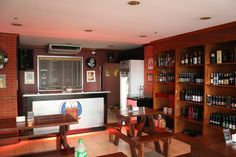 Visited the recently and this is what I found. Beer Brewery, Makati, Manila, Craft Beer, Philippines, South Africa, Liquor Cabinet, Crafts, Furniture