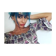 SHE SLAY. 💙 @bleubriggs  ELA aztec bardot crop top just £12 w/ 20% off code BALLIN 💸  Shop from the link in our bio.  #RBabez #Fashion #FBlogger #Ootd #Ootn #InstaStyle #HelenBriggs #ExOnTheBeach