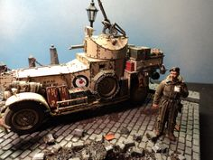 1:35 scale British Armoured Car.Built by Thomas Valle 2-2012.