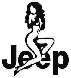 Sexy Jeep girl logo