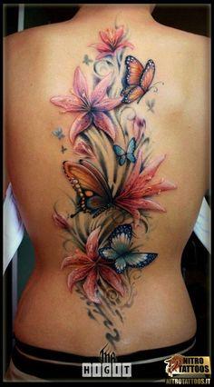 Amazing Wildflowers Butterflies | tatuaggi-fiori-e-farfalle.jpg (99.18 KiB) Osservato 391 volte