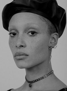 """midnight-charm:  """" Adwoa Aboah photographed by Nicole Maria Winkler for Dior Fall/Winter 2017 Accessories  """""""