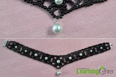 Love beading necklace? If yes, you must fall in love with today's Pandahall original project--how to make delicate choker necklace with pearl beads!