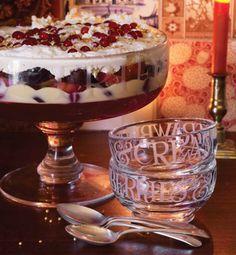 Emma Bridgewater Glassware Trifle Dish and Bowls