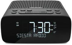 Pure Siesta S2 Alarm Clock Radio In Graphite DAB digital radio High Quality
