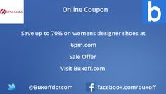 Latest 6-pm Coupon on Buxoff Visit to know more