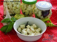 Sýr naložený v oleji Korn, Feta, Potato Salad, Potatoes, Ethnic Recipes, Author, Potato, Grains