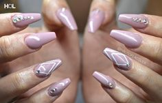Nails done at @crownthequeens.  haus.of.lacquer@gmail.com or call 604.558.1234 to book an appointment at Queens 12 east cordova in gastown. Shop rings and accessories in store and online www.crownthequeens.com #BESTin604 #yournailtechaintdoingyouright #nails #nail #nailart #beauty #fashion