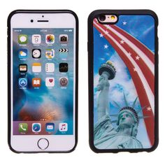 Statue of Liverty 3D Hologram TPU Phone Case Skin for iPhone 6 Plus & 6S Plus