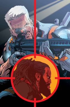 Cover to the first chapter of Cable & Force #16 in Vendetta!