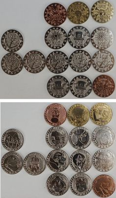 #OnePiece : 15 Coins http://www.japanstuff.biz/ CLICK THE FOLLOWING LINK TO BUY IT ( IF STILL AVAILABLE ) http://www.delcampe.net/page/item/id,0391699518,language,E.html