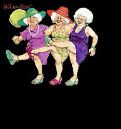 Three Elderly Ladies From Florida
