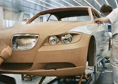 car designing (clay)