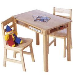 Lipper Childrens Rectangular Table And Chair Set Sets At Tables Chairs