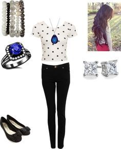 """""""ally from Austin and ally"""" by sanforddani ❤ liked on Polyvore"""