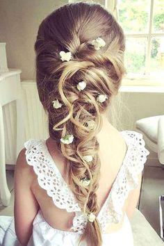 Flower girl hair style ideas