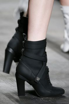 Fendi Autumn Winter 2014-15 #boots #black