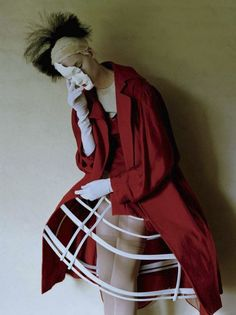 Audrey Marnay and Kirsi Pyrhonen by Tim Walker, Vogue italia