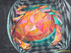 Sternzeichen Krebs, Bock-Art, Christine Bock
