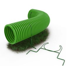 Tunnel supports lift tunnels to protect your grass. They also help hold tunnels in curved shapes.