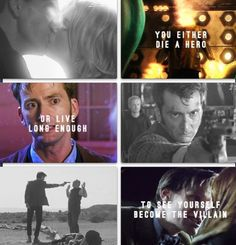 Doctor Who/The Dark Knight crossover