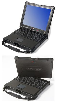DRS Tactical Systems Armor C12 Convertible Laptop