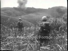 Vietnam War Bien Hoa Air Base and Operation Baker Newsreel  PublicDomain...