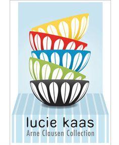 Lucie Kaas, Plakat m/Lotus-skåle