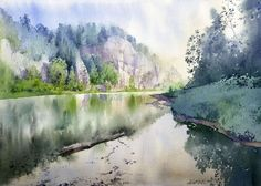 Gorska Rudera (Grzegorz Wróbel) GreeGW – Zatoka – watercolor