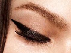 Exaggerated Cat Eye for Fall #Fallbeauty