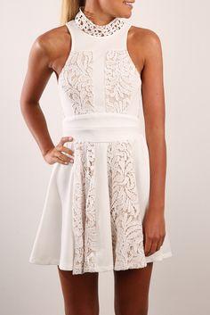 Liliana Dress White | Women's | Jean Jail