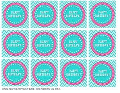 Cupcake toppers, Templates and Cupcake