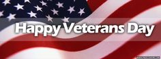 Veterans Day American Flag Cover