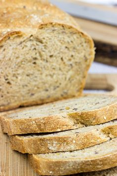 A good sandwich starts with good bread, and this Multi-Grain Sandwich Bread is not only good…it's great!