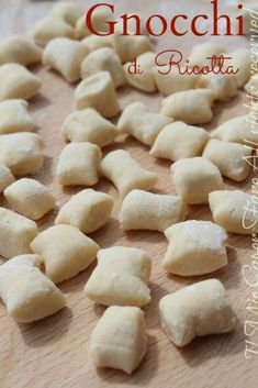Print Recipe Sweet dough Prep minsCook minsTotal mins Course: DessertsCuisine: Healthy and gourmet meal idea, Healthy eatingKeyword: Desserts, Great classics Servings: 6 Calories: g For a mold 24 to 28 cm in g Continue Reading → Ricotta Gnocchi, Gnocchi Pasta, Ravioli, Gnocchi Recipes, Pasta Recipes, Pasta Casera, Sweet Dough, Best Italian Recipes, Italian Pasta