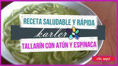 Tallarines con atún y espinaca...suscríbete para más opciones saludables #opcionessaludables #recetassaludables #cocina